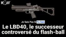 Le LBD40, le successeur controversé du flash-ball
