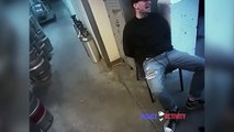 Un suspect arrêté fait l'erreur de cracher au visage d'un policier !