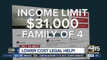 Legal help at a lower cost