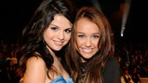 Selena Gomez Reacts to Miley Cyrus' '7 Things' Throwback   Billboard News