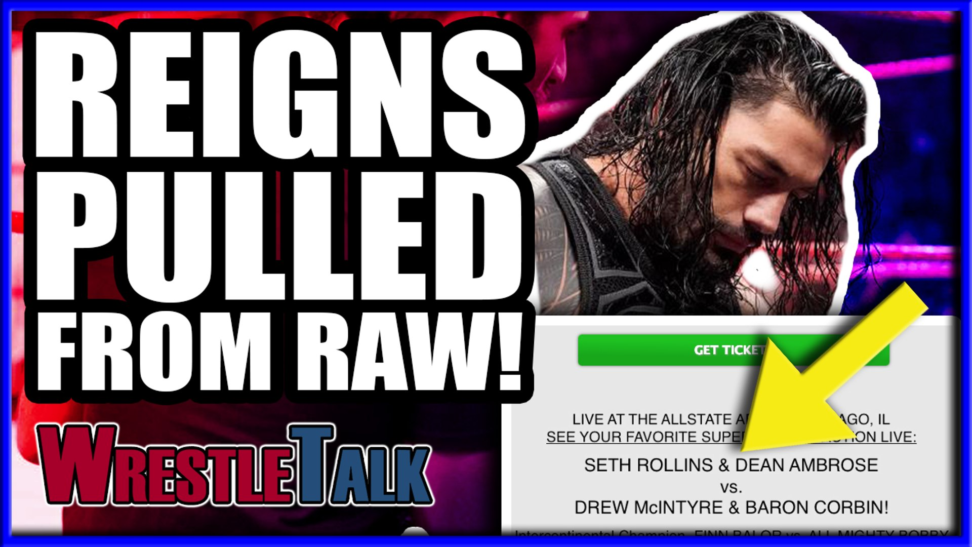 Roman Reigns PULLED From WWE Raw? Eminem SIGNS With WWE?! | WrestleTalk News Mar. 2019