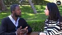 """Bertrand Ndongo: """"Llevo en España una década y jamas me ha tratado mal un español por ser negro"""""""