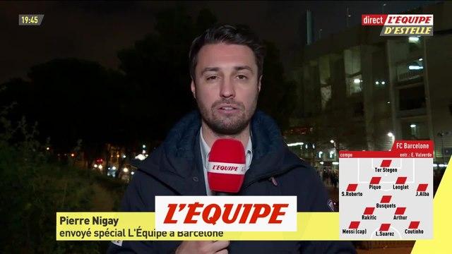 Nigay commente la composition du Barça face à l'OL - Foot - C1