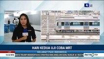 Hari Kedua Uji Coba, MRT Jakarta Angkt 6 Ribu Penumpang