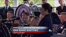 "Nancy Reagan Funeral ""Ave Maria"""