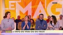 Nathalie Pechelat et Isabelle Moreau en classe ensemble ? - L'info du Vrai du 13/03 - CANAL+