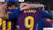 Philippe Coutinho Goal - Barcelona vs Lyon 2-0 13/03/2019
