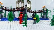 LEGO Ninjago   STOP MOTION   Ninja Train Robbery   LEGO Ninjago Sons of Garmadon   By Billy Bricks