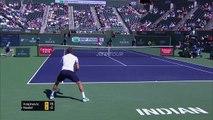 Nadal beats Krajinovic in straight sets to reach Indian Wells quarter-finals