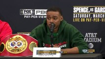 Errol Spence Jr. and Mikey Garcia speak ahead of welterweight title bout