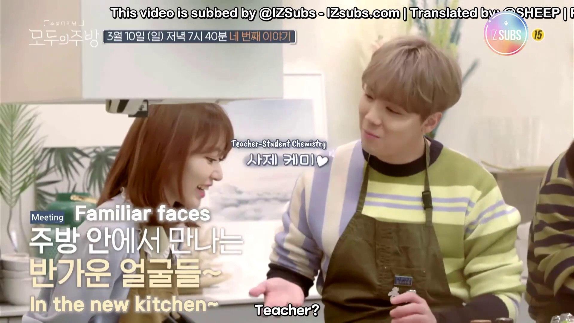 [ENG SUB] 190303 [Everyone's Kitchen EP 4] [Teaser] Produce48 Teacher Lee  Hongki and Sakura Met Again! (ft  Enormous Sea Bream Cutting ShowShowShow)