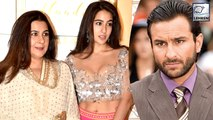 Sara Ali Khan Talks About The Last Time Saif Ali Khan & Amrita Singh Spent Time Together