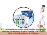 PURE BLUE H2O 4STAGE REVERSE OSMOSIS HOME DRINKING WATER SYSTEM