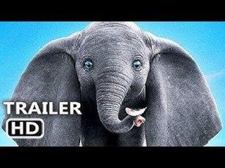 DUMBO (FIRST LOOK - Trailer NEW) 2019 Disney, Tim Burton Movie HD