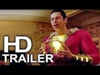 SHAZAM (FIRST LOOK - Aquaman Powers Trailer NEW) 2019 Superhero Movie HD