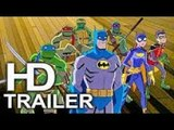 BATMAN VS TEENAGE MUTANT NINJA TURTLES (FIRST LOOK - Trailer #1 NEW) 2019 DC Superhero Movie HD