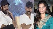 Upasana Wishes Ram Charan For #RRR || RRR Movie Press Meet || Jr NTR | Rajamouli | Filmibeat Telugu