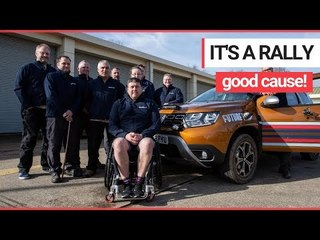 Armed forces team to compete in one of world's most grueling rallies | SWNS TV