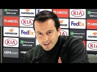 Julien Stephan & Benjamin Andre Full Pre-Match Press Conference - Arsenal v Rennes - Europa League