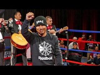 Mikey Garcia GRAND ARRIVAL IN DALLAS, TEXAS | Spence vs Garcia