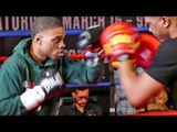 Errol Spence SMASHES PADS for Home Town Crowd !  |  Spence vs Garcia