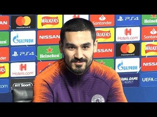 Ilkay Gundogan Full Pre-Match Press Conference - Manchester City v Schalke - Champions League
