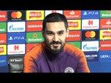 Ilkay Gundogan Full Pre-Match Press Conference - Manchester City v Schalke - Champions League