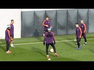 Manchester City Train Ahead Of Schalke Champions League Clash