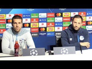 Dominico Tedesco & Matija Nastasic Full Pre-Match Press Conference - Manchester City v Schalke