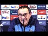 Maurizio Sarri Full Pre-Match Press Conference - Dynamo Kiev v Chelsea - Europa League