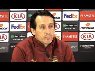 Unai Emery & Lucas Torreira Full Pre-Match Press Conference - Arsenal v Rennes - Europa League
