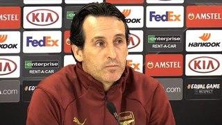 Unai Emery & Lucas Torreira Full Pre-Match Press Conference - Arsenal v Rennes - Europa League