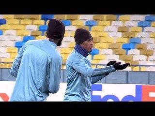 Chelsea Train Ahead Of Dynamo Kiev Europa League Match