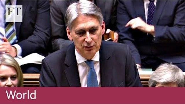 UK Spring Statement 2019: key takeaways from Philip Hammond's speech