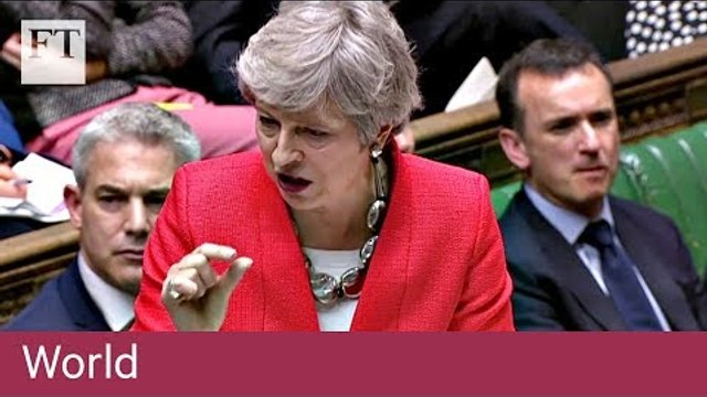 Theresa May's no-Brexit warning before 'meaningful vote'