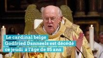 Le cardinal Godfried Danneels est décédé ce 14 mars 2019