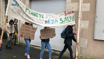 Fontenay-le-Comte. Les lycéens manifestent pour le climat