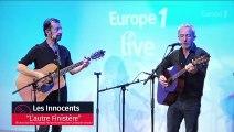 """Les Innocents interprètent """"L'autre Finistère"""" en live sur Europe 1"""