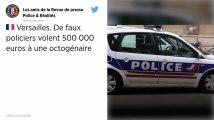 Yvelines. De faux policiers volent 500 000 euros de lingots d'or et bijoux chez une octogénaire