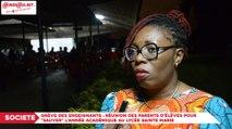 Grève des enseignants : Les parents d'élèves du Lycée Sainte Marie de Cocody réclament la reprise effective des cours
