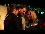NO FEAR? -KATIE TAYLOR UNFAZED IN FACE-OFF w/ ROSE VOLANTE IN PRESS CONFERENCE / TAYLOR v VOLANTE