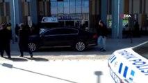 Polisleri taşıyan araçla yolcu minibüsünün çarpıştığı kazanın kamera görüntüleri ortaya çıktı