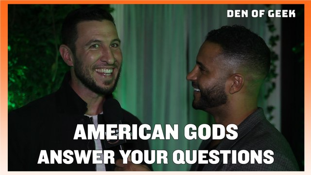 American Gods - The Cast Answers Your Questions!