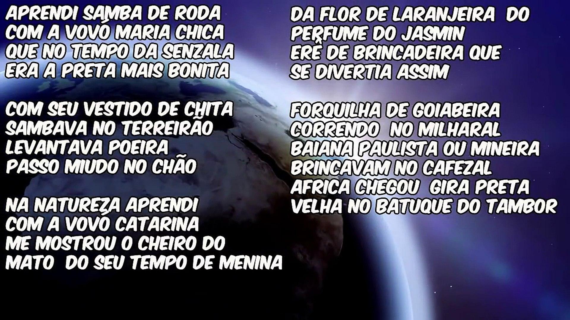 PONTOS DE PRETO VELHO COM LETRA