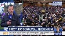 Les députés britanniques votent contre un second référendum sur le Brexit