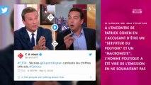 Nicolas Dupont-Aignan viré de C à Vous : Patrick Cohen réagit à leur clash