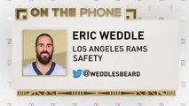The Jim Rome Show: Eric Weddle talks signing with Rams