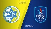Maccabi FOX Tel Aviv - Anadolu Efes Istanbul Highlights | Turkish Airlines EuroLeague RS Round 26