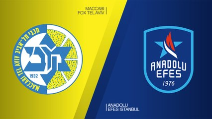 EuroLeague 2018-19 Highlights Regular Season Round 26 video: Maccabi 71-79 Efes