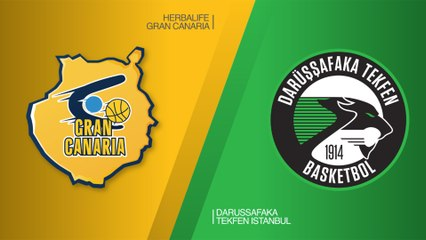 EuroLeague 2018-19 Highlights Regular Season Round 26 video: Gran Canaria 84-64 Darussafaka